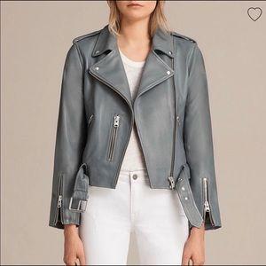 Brand New Allsaints Leather Jacket
